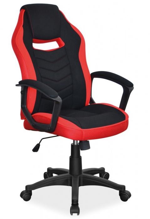 Kancelářské křeslo CAMARO černá/červená