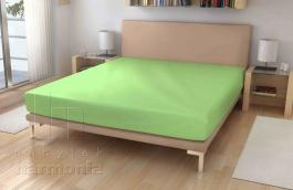 Jersey prostěradlo - světle zelená