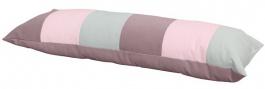 Polštář obdelník - růžová / mintová