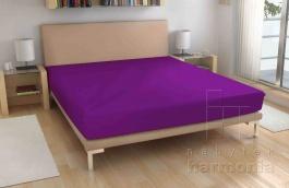 Froté prostěradlo - fialové