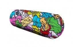 Polštář válec Komiks - mix barev