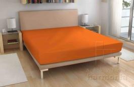 Froté prostěradlo - oranžové