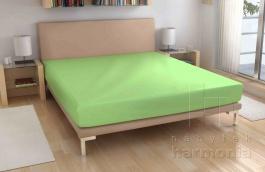 Froté prostěradlo - světle zelené