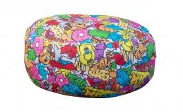 Sedací polštář Komiks - mix barev