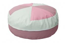 Sedací polštář - růžová / mintová
