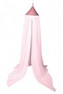 Nebesa nad postel - pastelově růžová