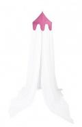 Nebesa nad postel - růžová