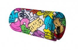 Opěrka/chránič na postel 18x36cm Komiks - mix barev