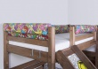 Opěrka/chránič na postel Komiks - mix barev
