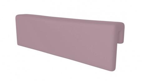 Opěrka/chránič na postel - pastelově fialová