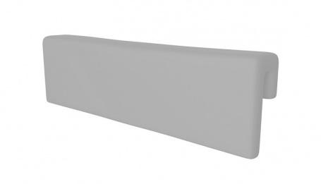 Opěrka/chránič na postel - SKANDI šedá