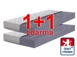 Matrace 1+1 zdarma Relax - dvě tuhosti - potah Aloe Vera