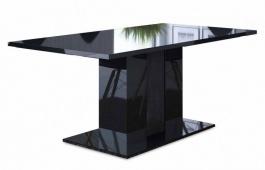 Jídelní stůl ANITA 2 černá lesk