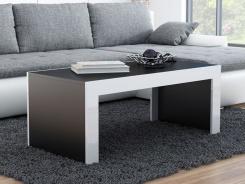 Konferenční stůl MONICA černá/bílá
