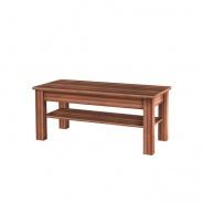 Konfereční stolek CHERIS - švestka/šedý grafit