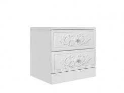 Noční stolek Ariel - bílý
