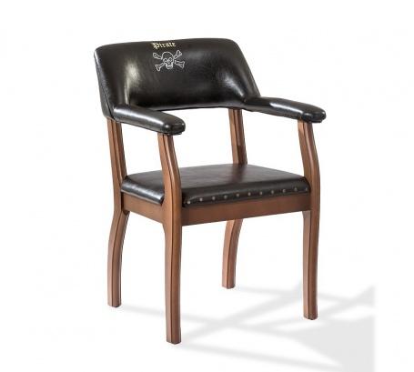 Dětská židle Jack - buk / černá
