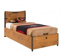 Dětská postel Jack 90x190cm s úložným prostorem - dub lancelot