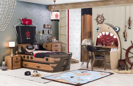 Dětský pokoj Jack V - dub lancelot