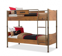 Dětská patrová postel Jack 90x200cm - dub lancelot