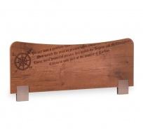 Zábrana na postel Jack - dub lancelot