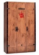 Třídveřová šatní skříň Jack - dub lancelot