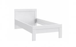 Dětská postel Snow 90x200cm - bílá