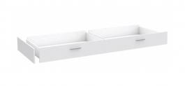 Šuplík k posteli Snow 140x200cm - bílá
