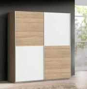 Šatní skříň Express - dub sonoma/bílý - Q89F