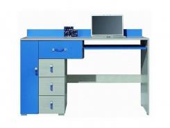 Psací stůl Adéla XIII - modrý