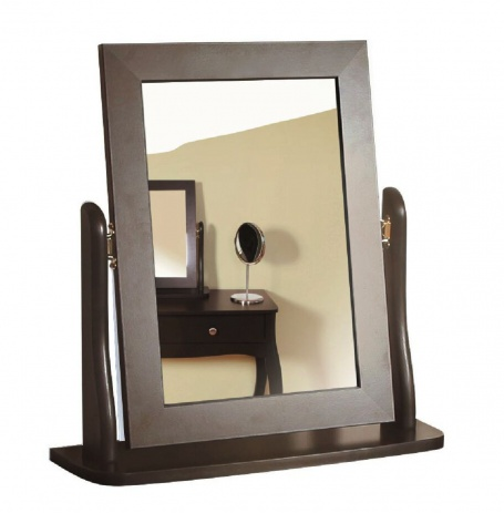 Zrcadlo Baroko - černá/hnědá