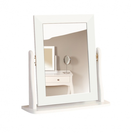 Zrcadlo Baroko - bílá