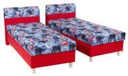 Čalouněná postel PAMELA 90x200cm - levá