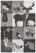 Kusový koberec V lese 475