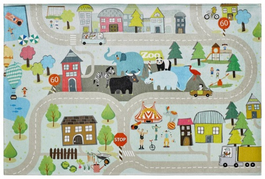 Dětský koberec STREETS