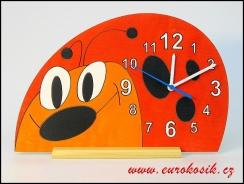 Dětské hodiny Beruška nástěnné i stojací