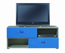 Televizní stolek Adéla X - modrý
