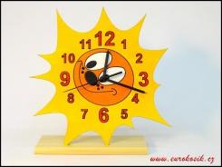 Dětské hodiny nástěnné Sluníčko
