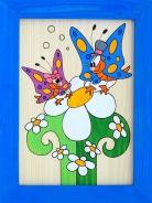 Dětský obrázek motýli