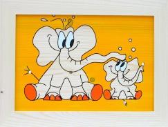 Dětský obrázek sloni
