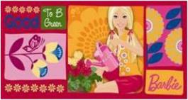 Dětská osuška Barbie 4