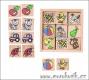 Dřevěné pexeso - dětské obrázky Reny design