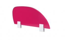 Zábrana na postel Rosie - rubínová