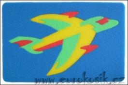 Pěnové puzzle 2D - LETADLO