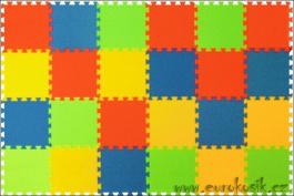 Pěnový koberec 24 maxi pevný