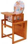 Dětská jídelní židle Kombi olše