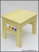 Dětská stolička s kuličkami 400x330