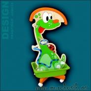 Dětský Němý Sluha - Brontosaurus