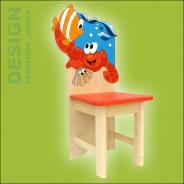 Dětská narozeninová židle Krab