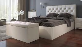 Čalouněná postel s úložným prostorem BEATRICE 180x200cm - béžová